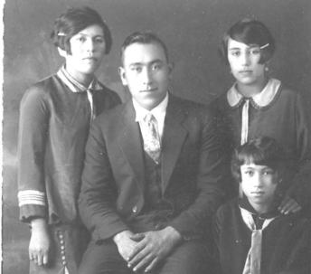 A. Roberts, James Wilson, Ethel W. Assu, Elenor W. Cliff - Wei Wai Kum Kwiakah Treaty Society